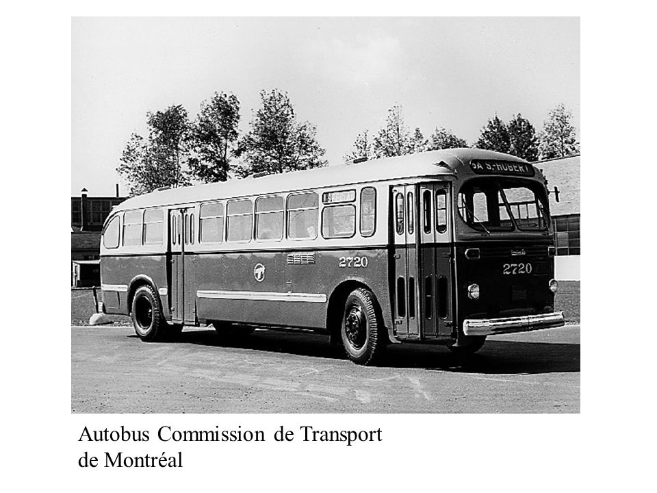 Autobus Commission de Transport de Montréal