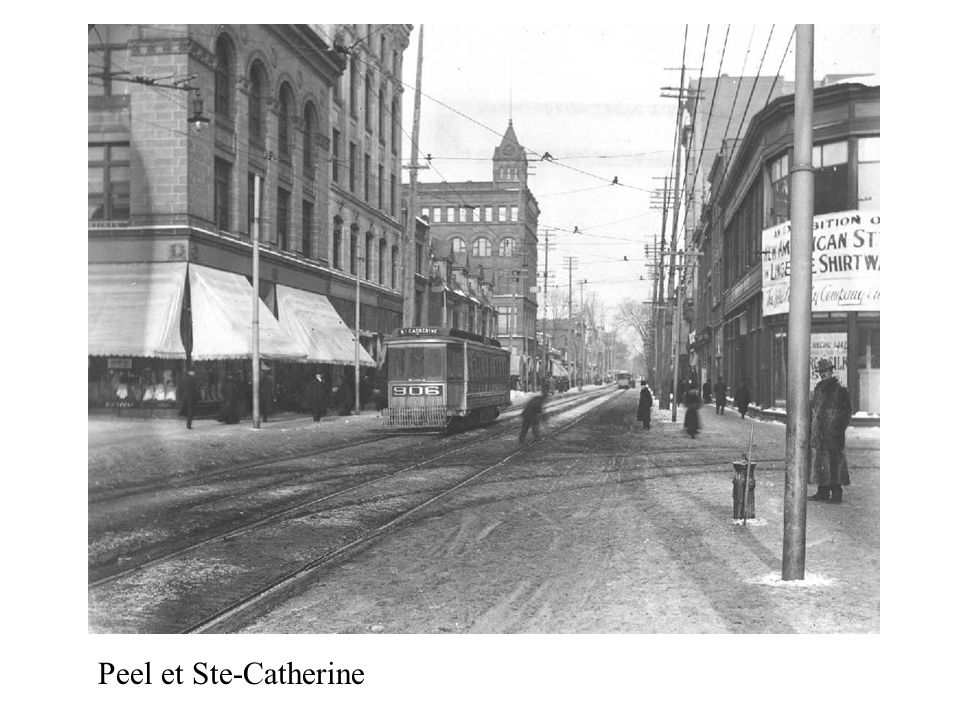 Peel et Ste-Catherine