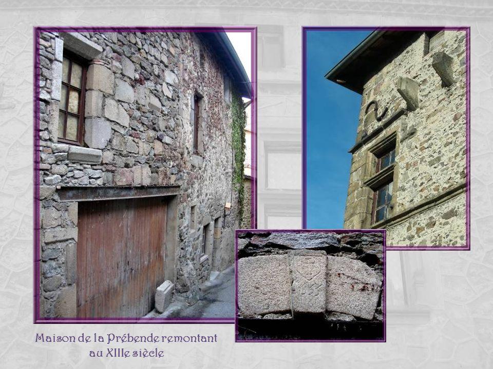 Maison de la Prébende remontant au XIIIe siècle