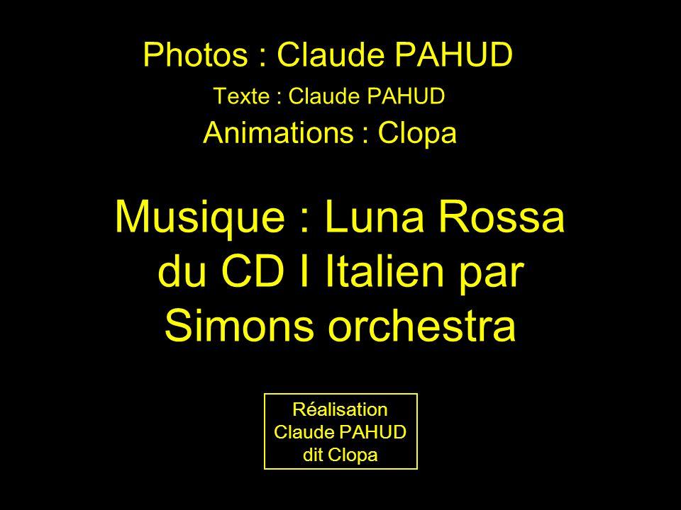 Musique : Luna Rossa du CD I Italien par Simons orchestra