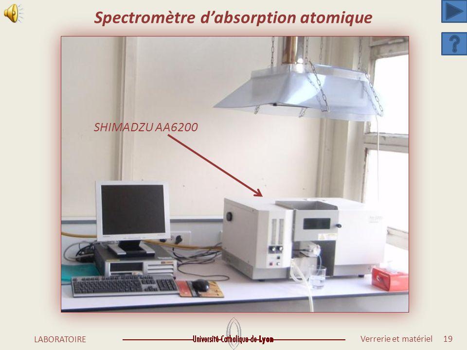 Spectromètre d'absorption atomique