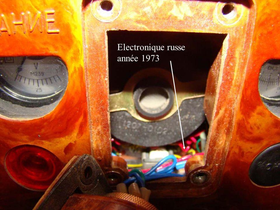 Electronique russe année 1973
