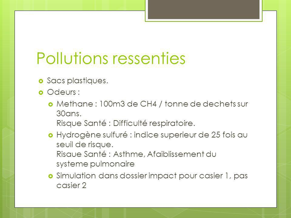 Pollutions ressenties