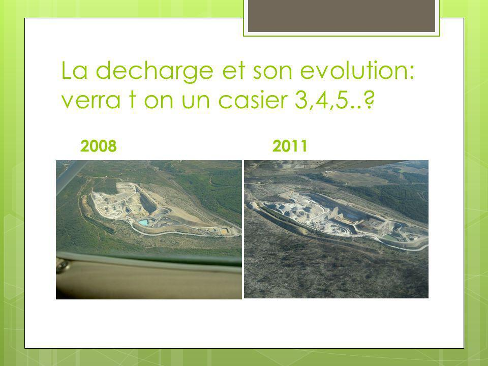 La decharge et son evolution: verra t on un casier 3,4,5..