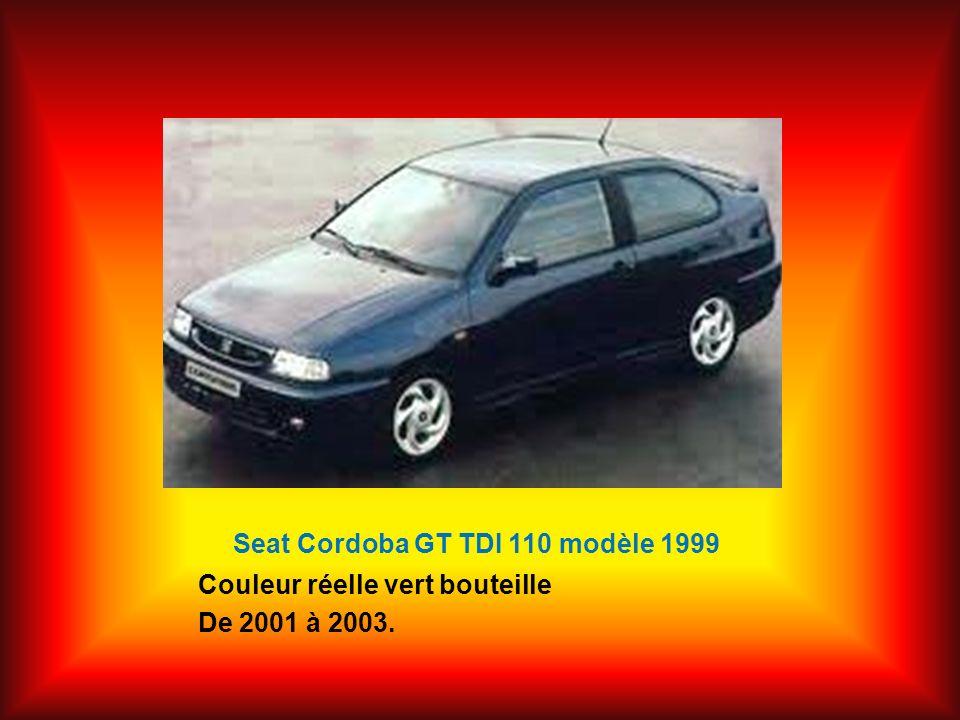 Seat Cordoba GT TDI 110 modèle 1999