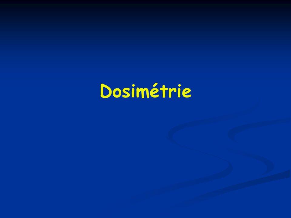 Dosimétrie