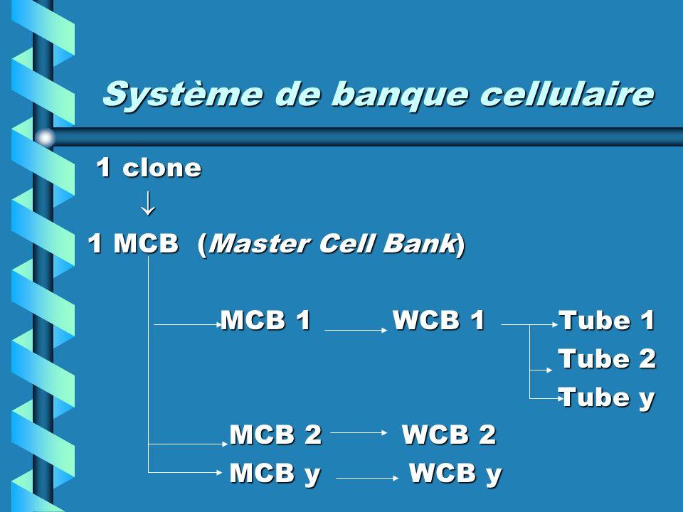 Système de banque cellulaire