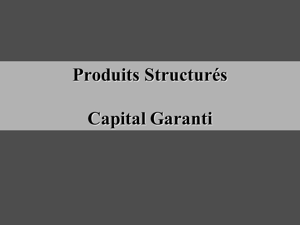 Produits Structurés Capital Garanti