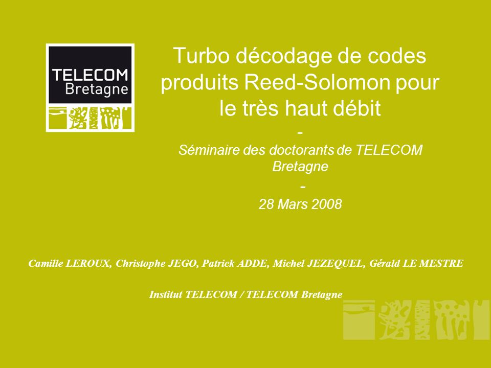 Institut TELECOM / TELECOM Bretagne
