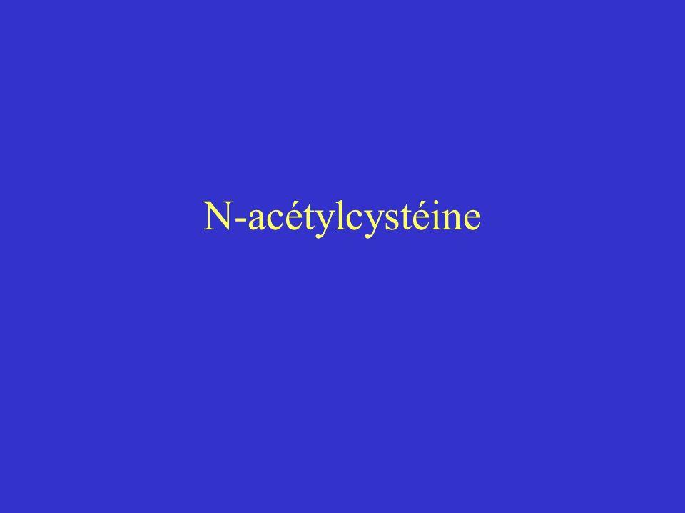 N-acétylcystéine