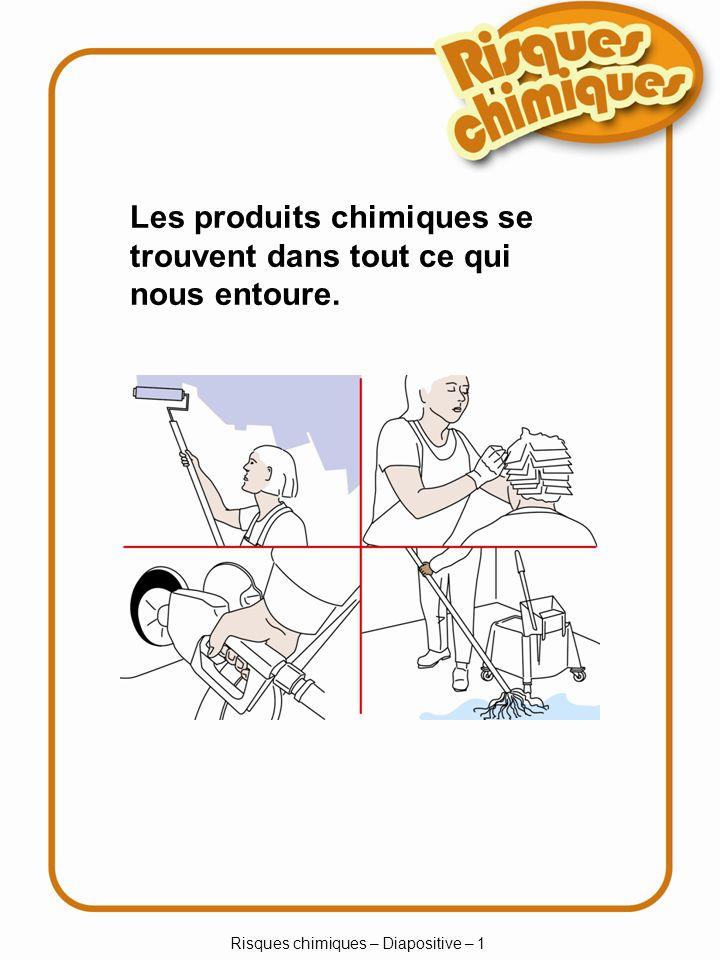 Risques chimiques – Diapositive – 1