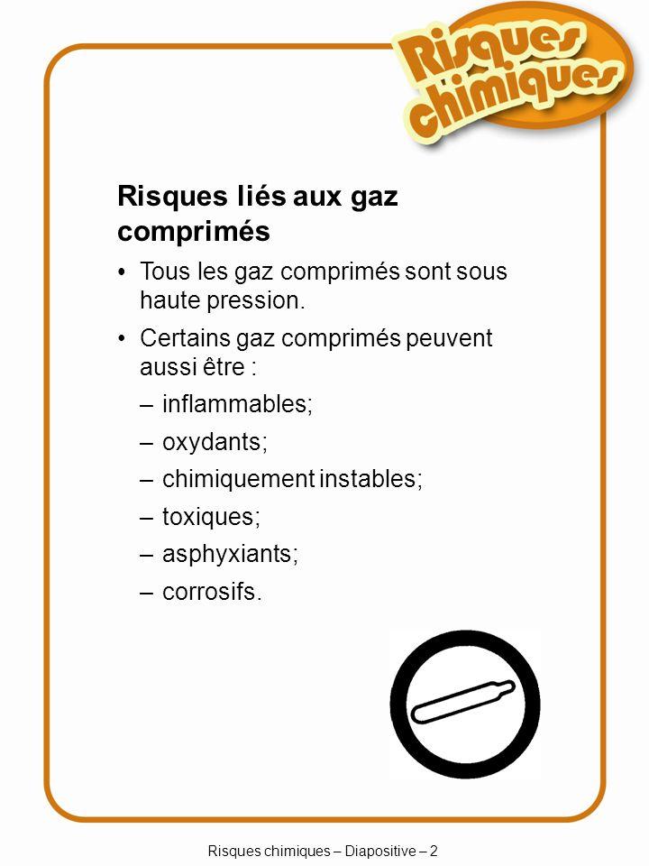 Risques chimiques – Diapositive – 2