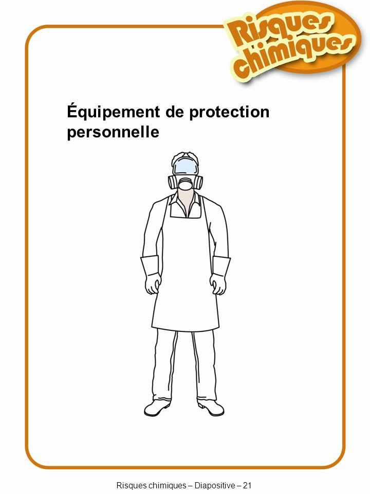 Risques chimiques – Diapositive – 21