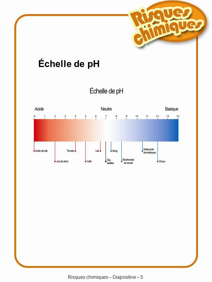 Risques chimiques – Diapositive – 5