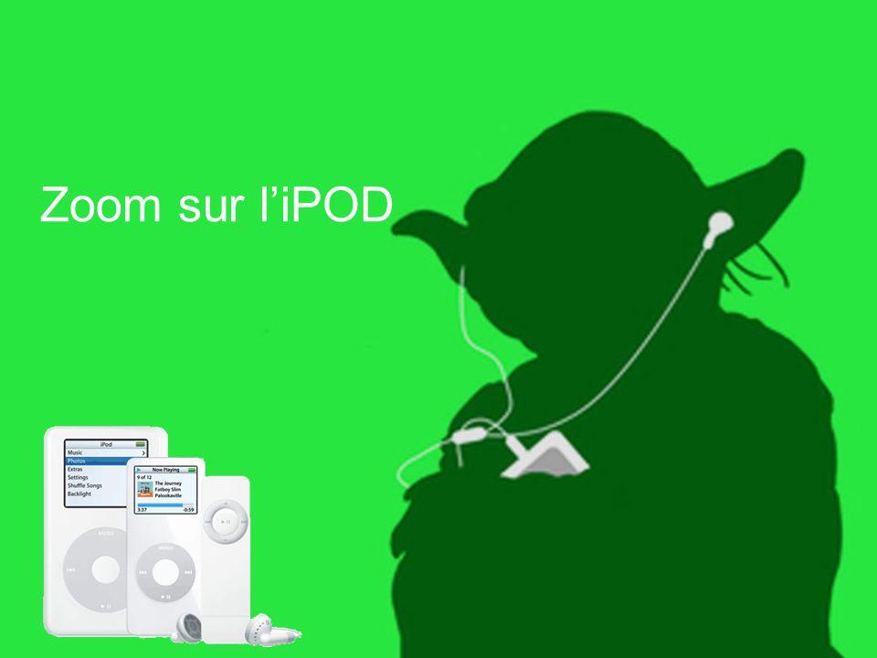 Zoom sur l'iPOD