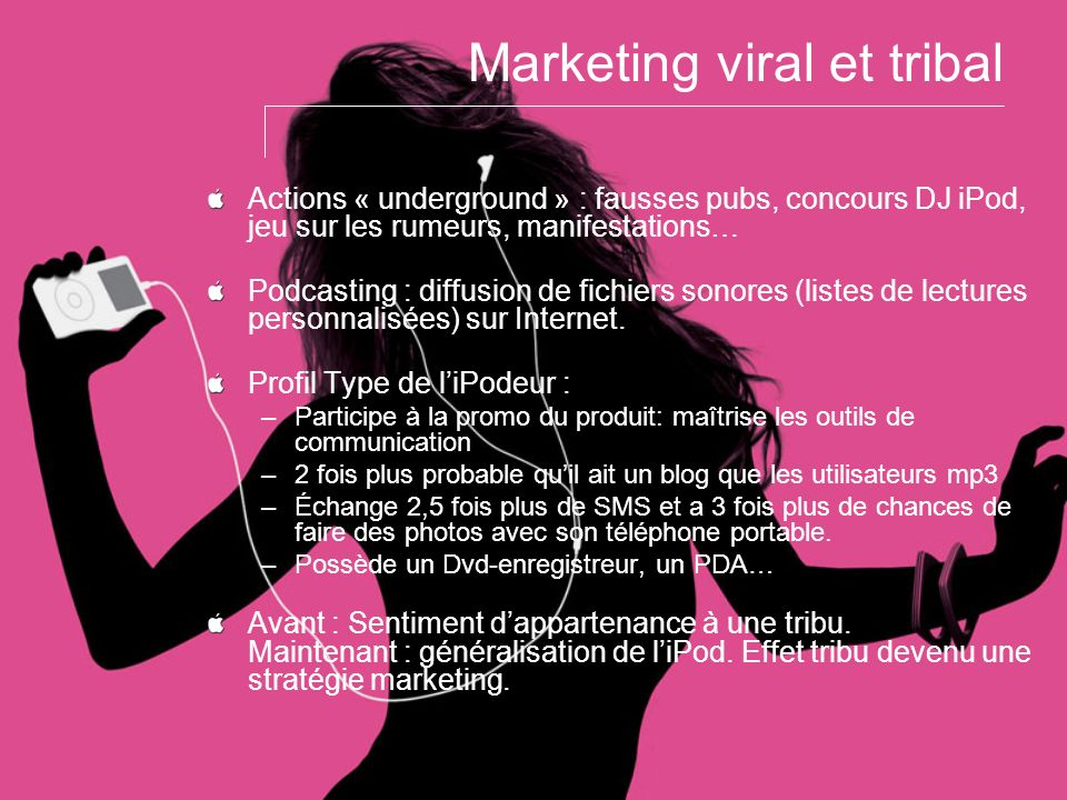 Marketing viral et tribal