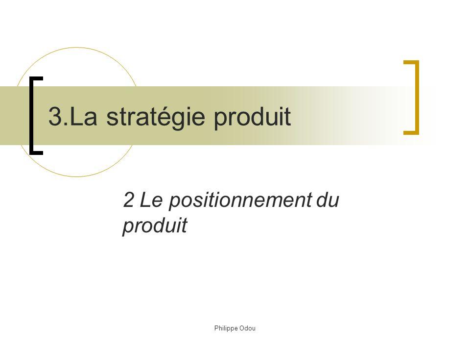 2 Le positionnement du produit