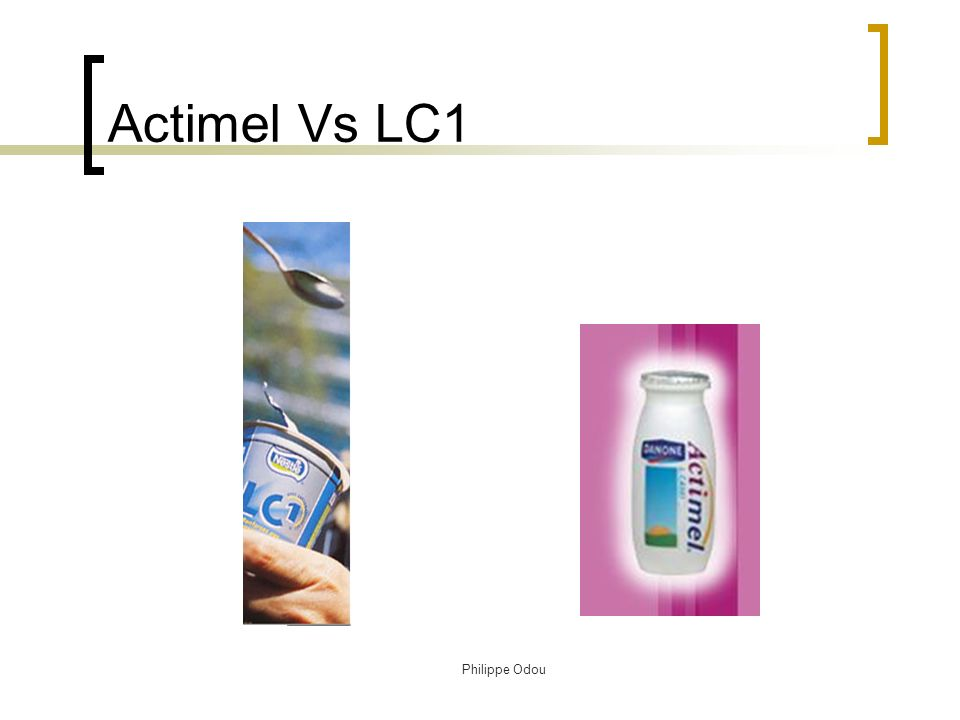 Actimel Vs LC1 Philippe Odou