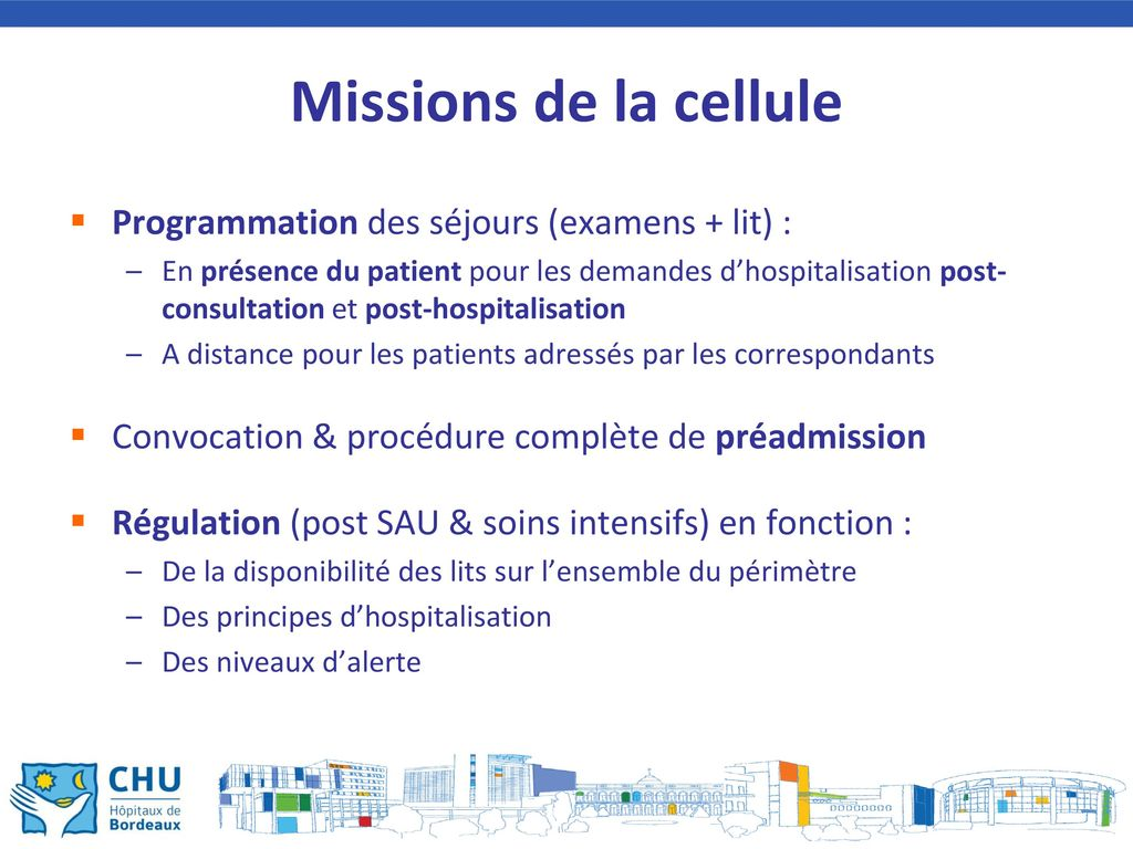 Retour d experience 1 centre hospitalier universitaire de bordeaux ppt t l charger - Procedure hospitalisation d office ...