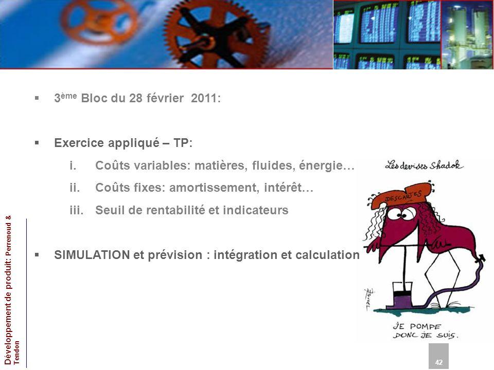 Exercice appliqué – TP: Coûts variables: matières, fluides, énergie…