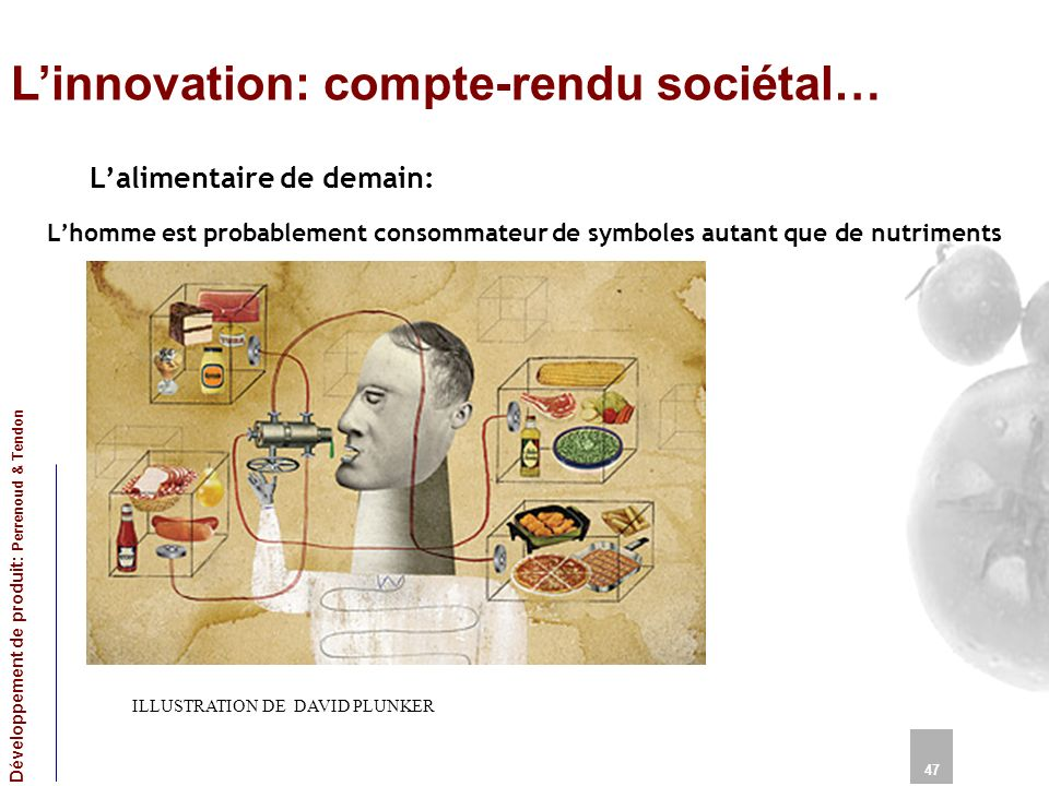 L'innovation: compte-rendu sociétal…