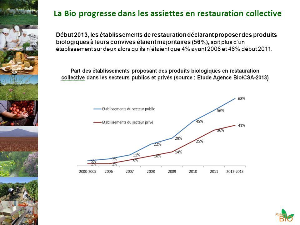 La Bio progresse dans les assiettes en restauration collective