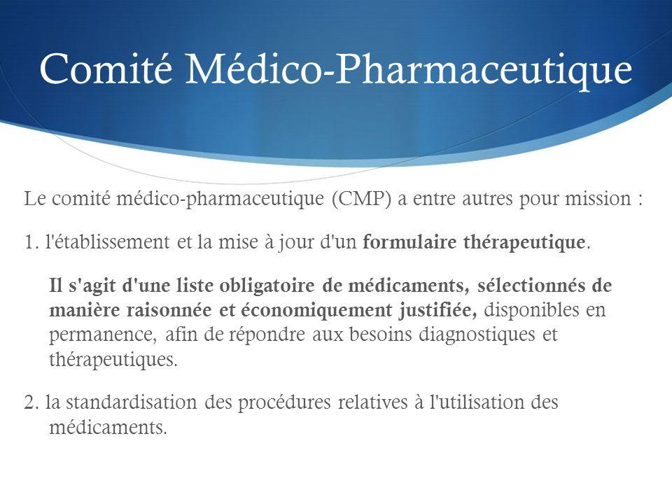 Comité Médico-Pharmaceutique