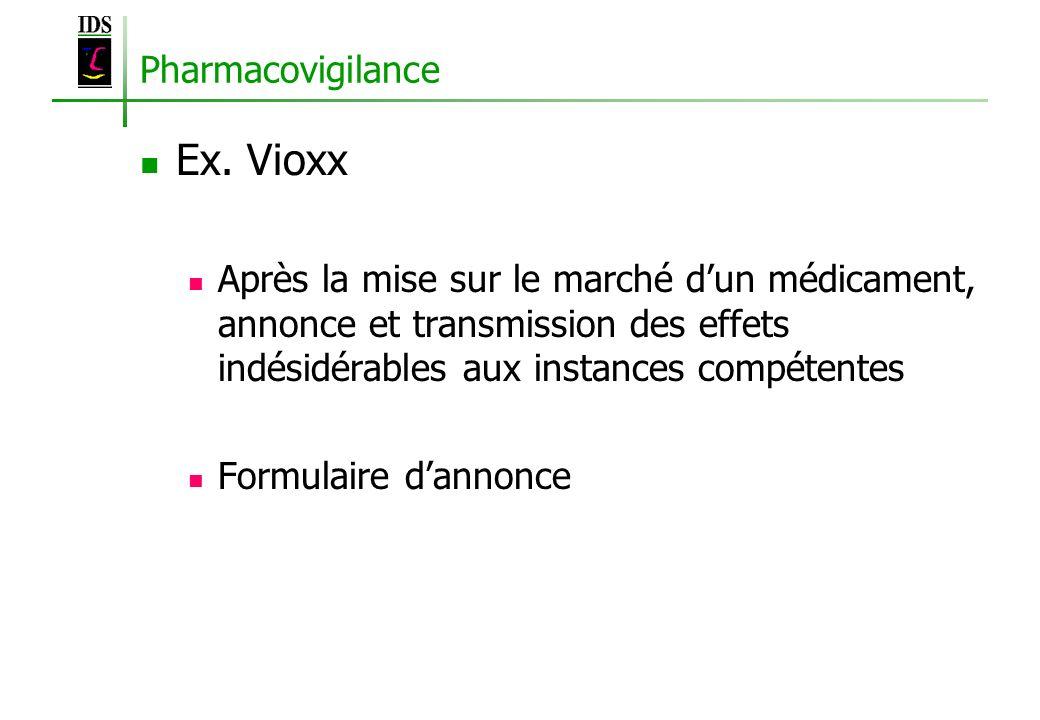 Ex. Vioxx Pharmacovigilance