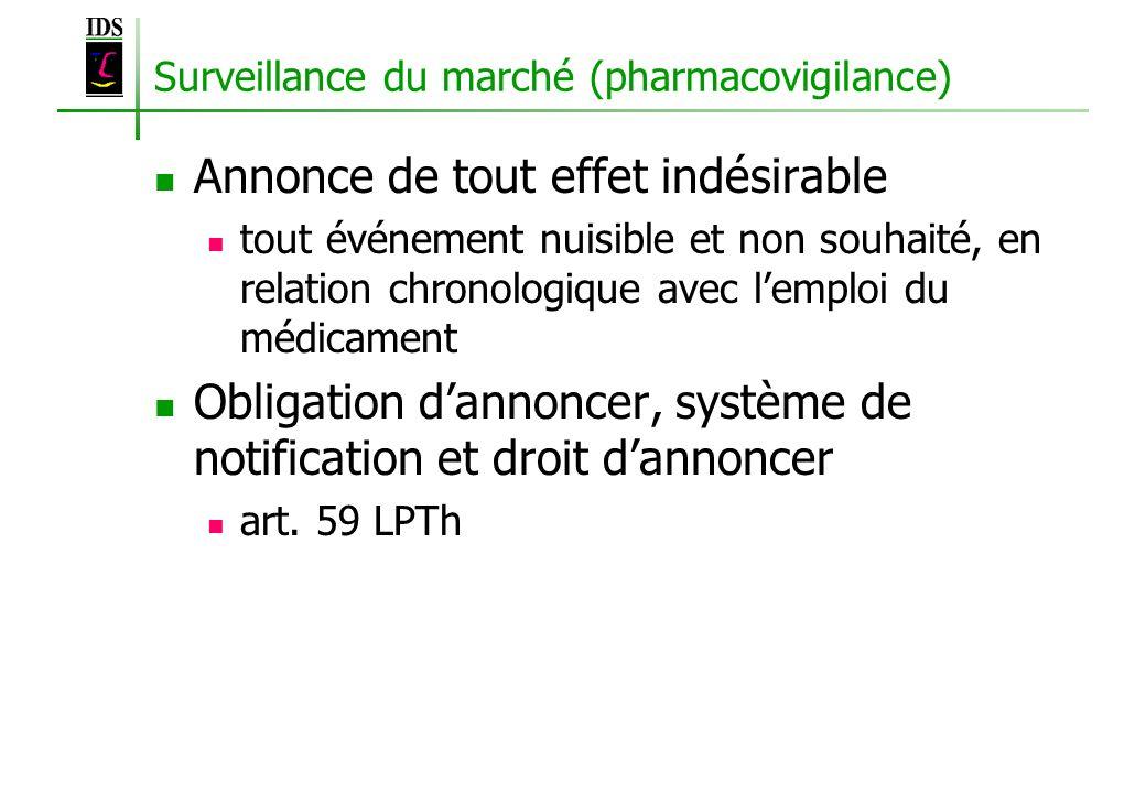 Surveillance du marché (pharmacovigilance)