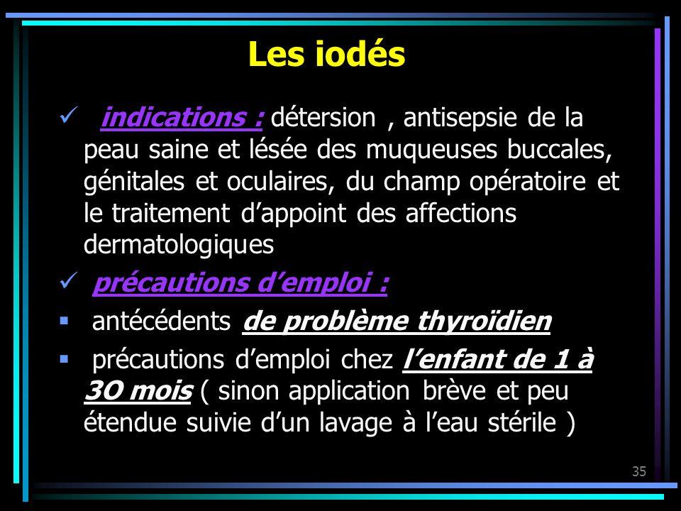 Les iodés