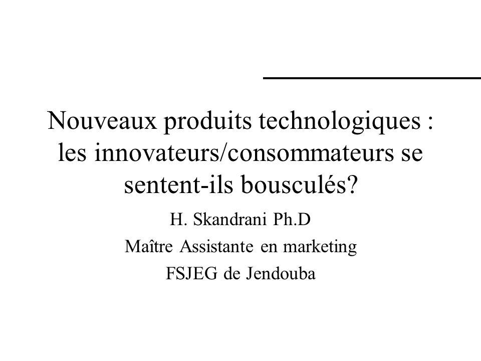 H. Skandrani Ph.D Maître Assistante en marketing FSJEG de Jendouba