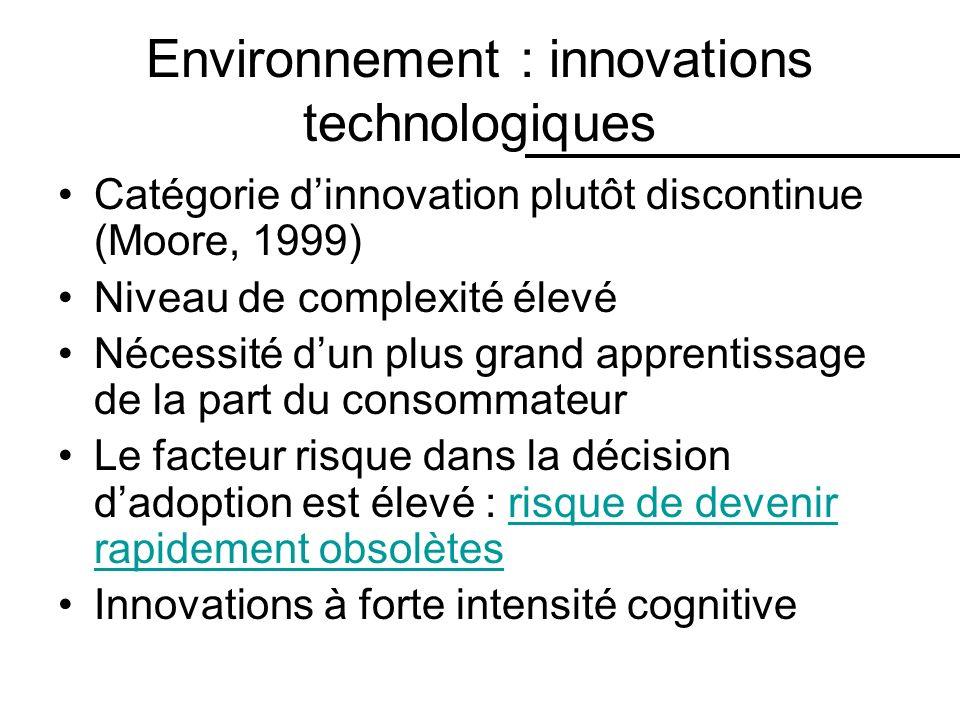 Environnement : innovations technologiques