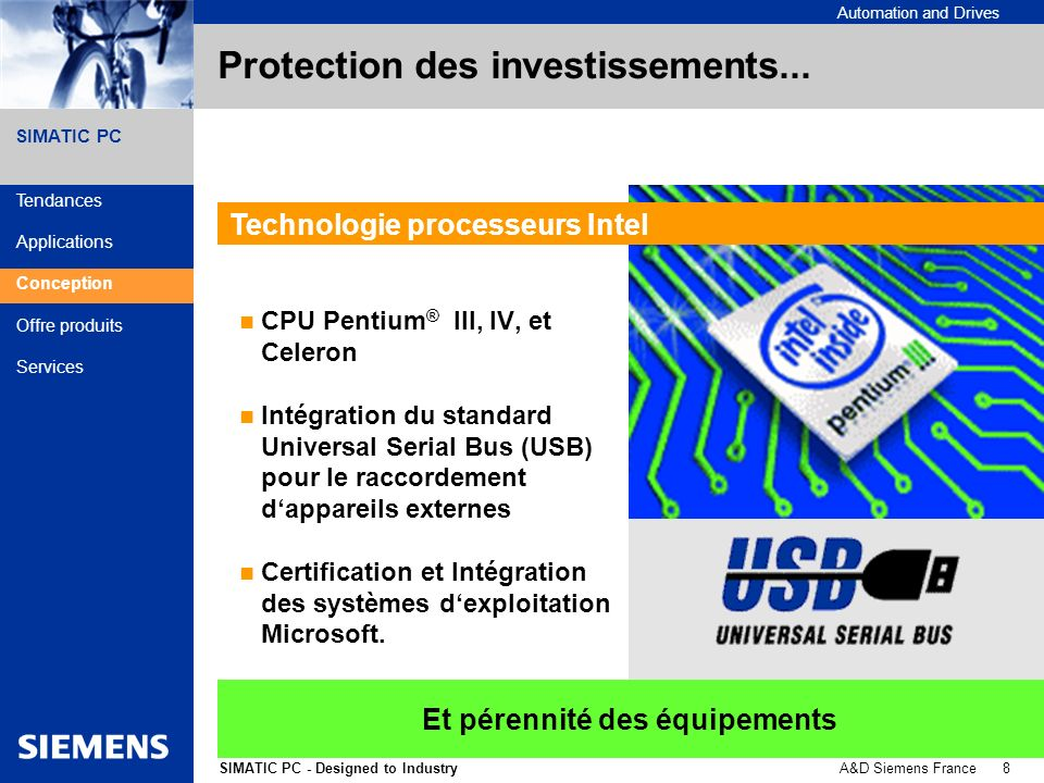 Protection des investissements...