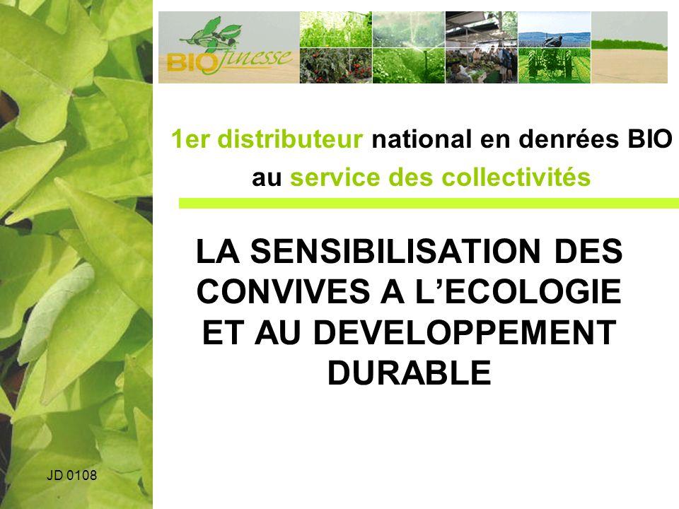 1er distributeur national en denrées BIO au service des collectivités