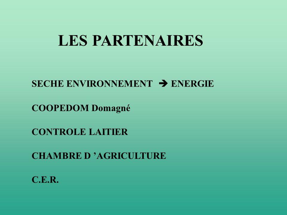 LES PARTENAIRES SECHE ENVIRONNEMENT  ENERGIE COOPEDOM Domagné