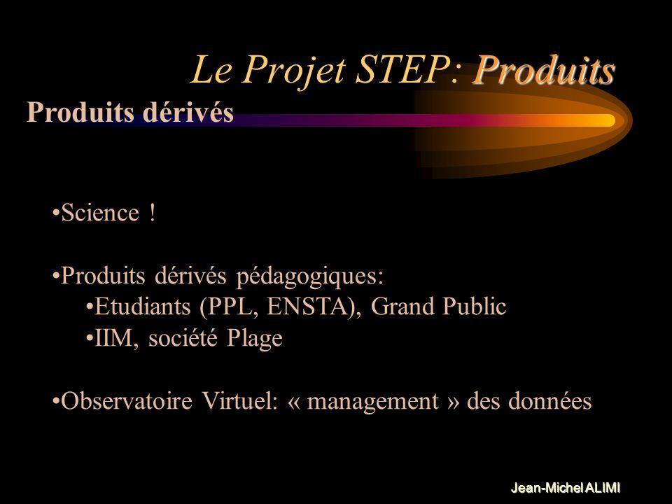 Le Projet STEP: Produits
