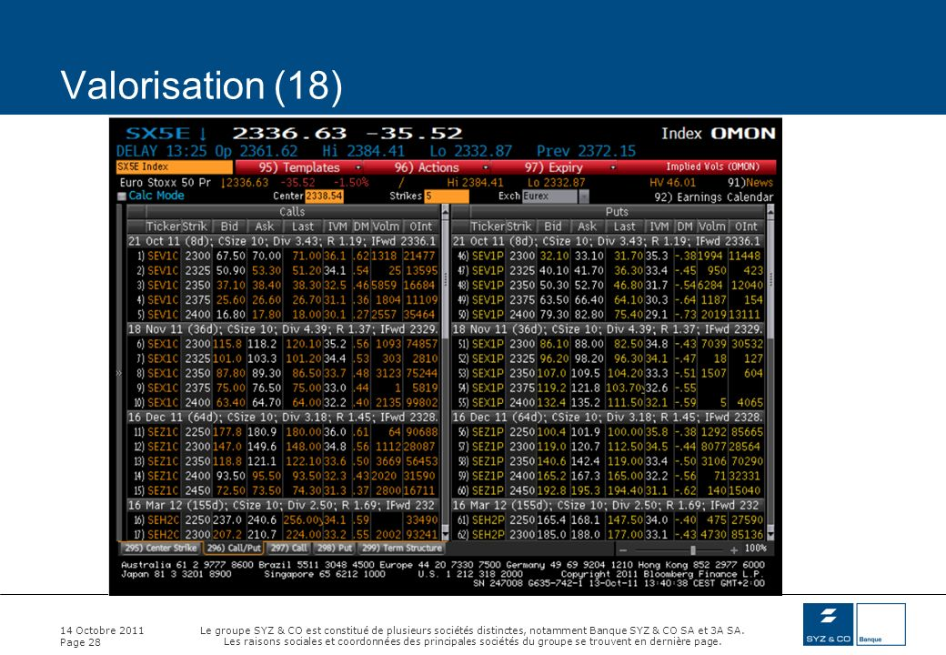 Valorisation (18) 14 Octobre 2011