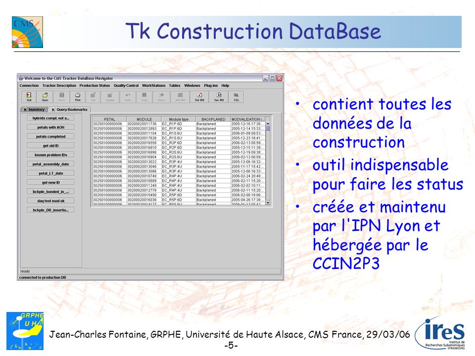 Tk Construction DataBase