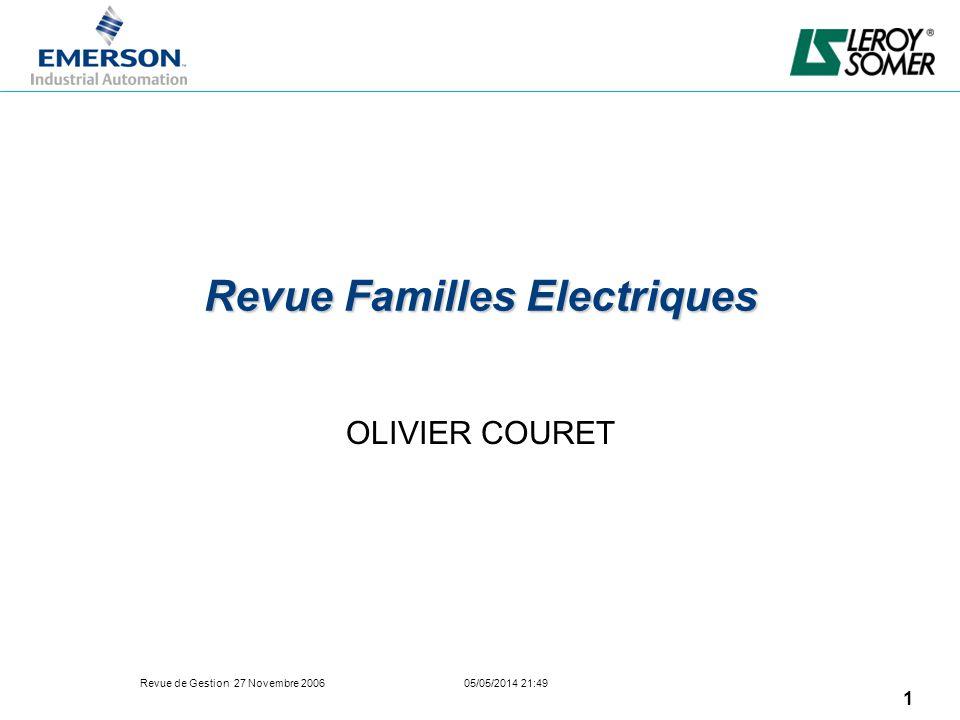 Revue Familles Electriques