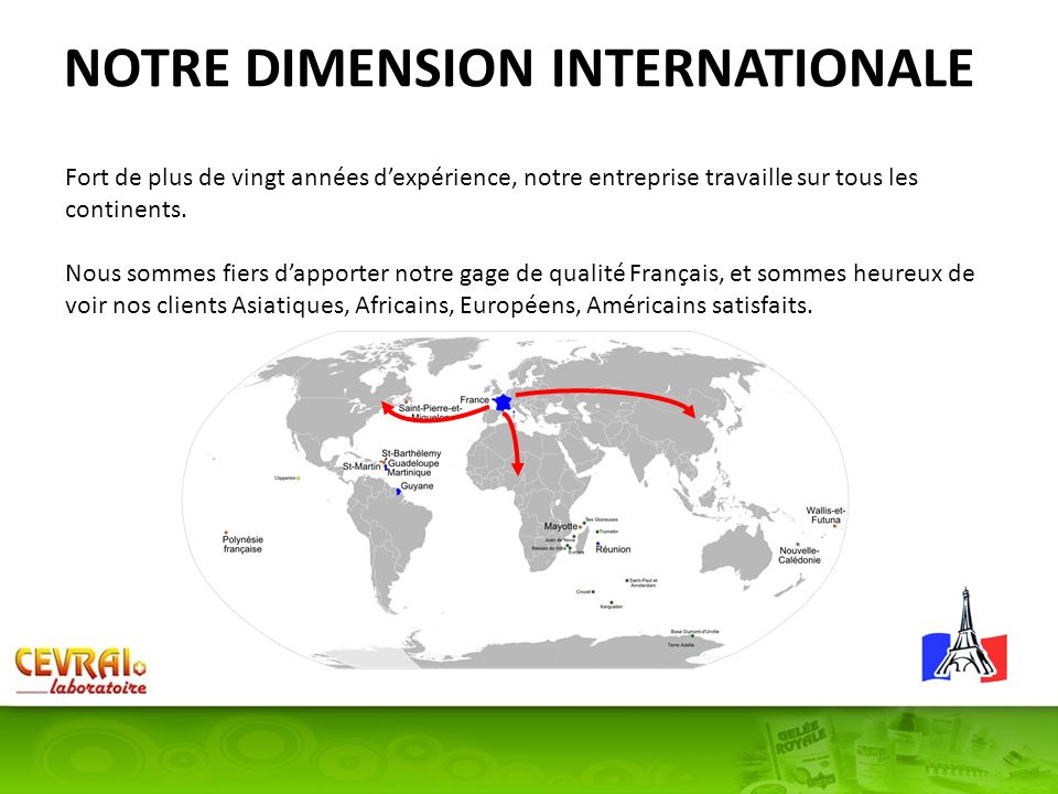 NOTRE DIMENSION INTERNATIONALE