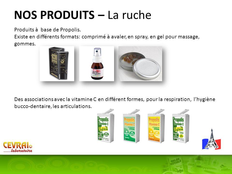 NOS PRODUITS – La ruche Produits à base de Propolis.