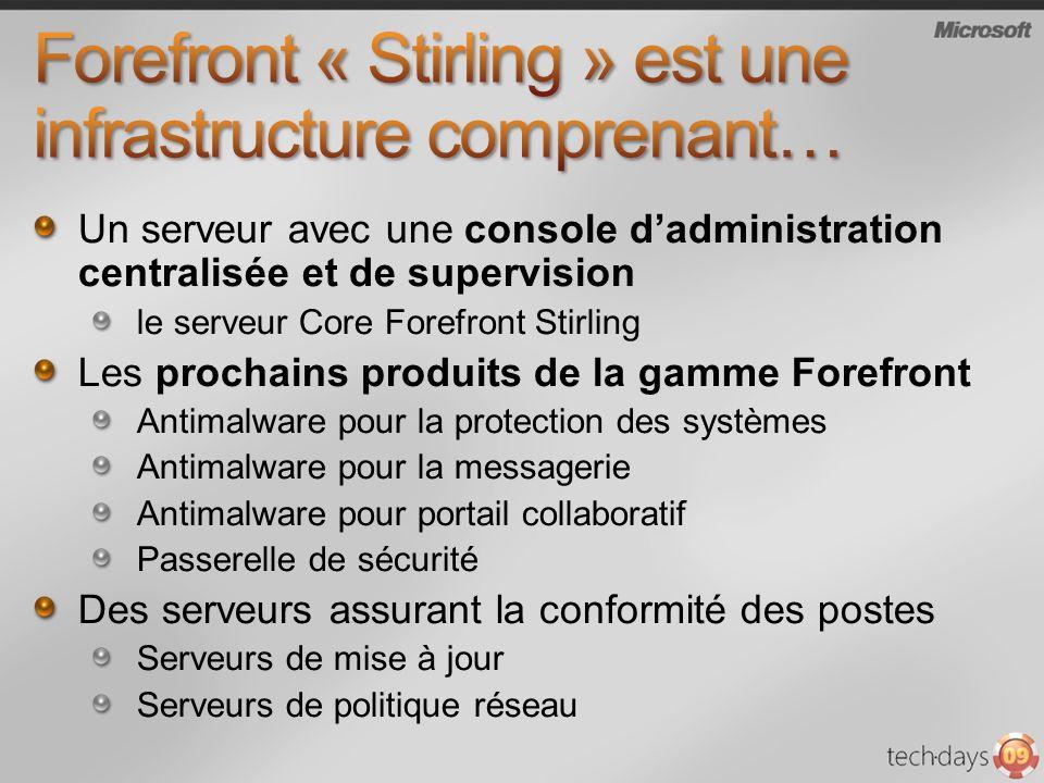 Forefront « Stirling » est une infrastructure comprenant…