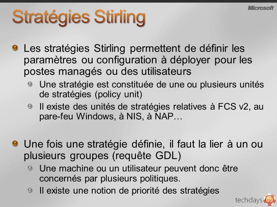 Stratégies Stirling