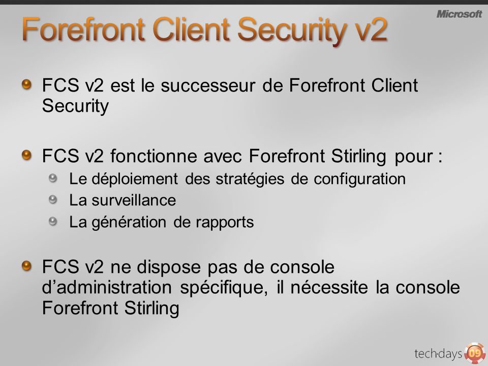 Forefront Client Security v2