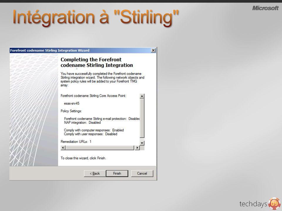 Intégration à Stirling
