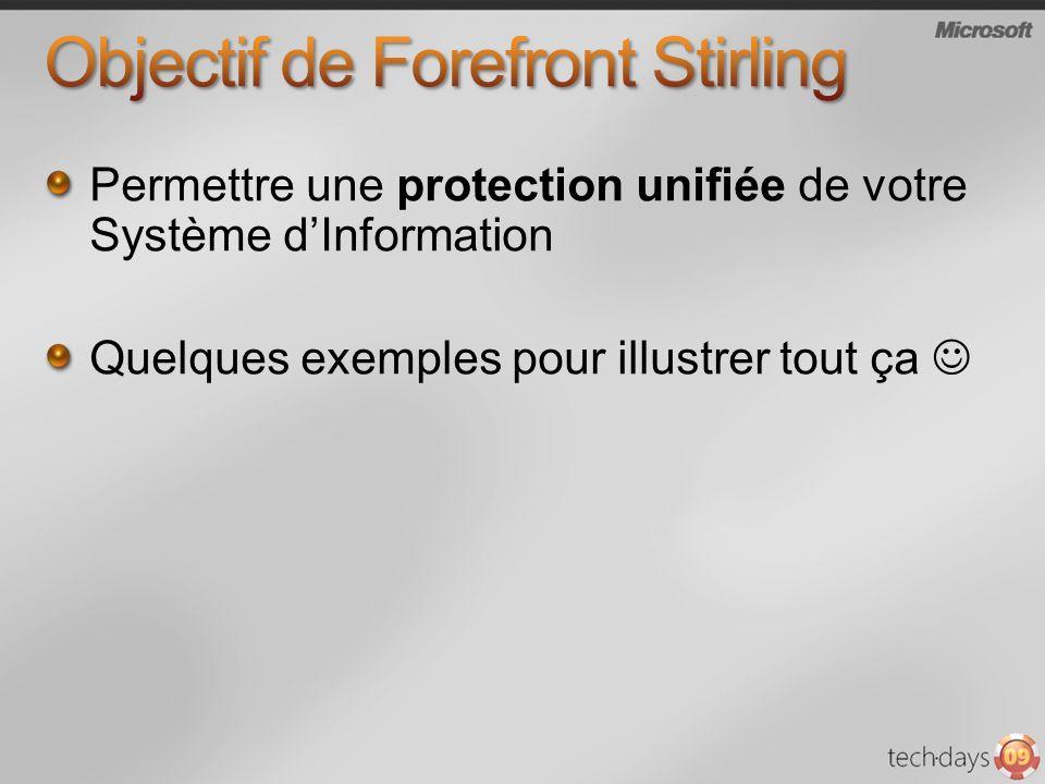Objectif de Forefront Stirling