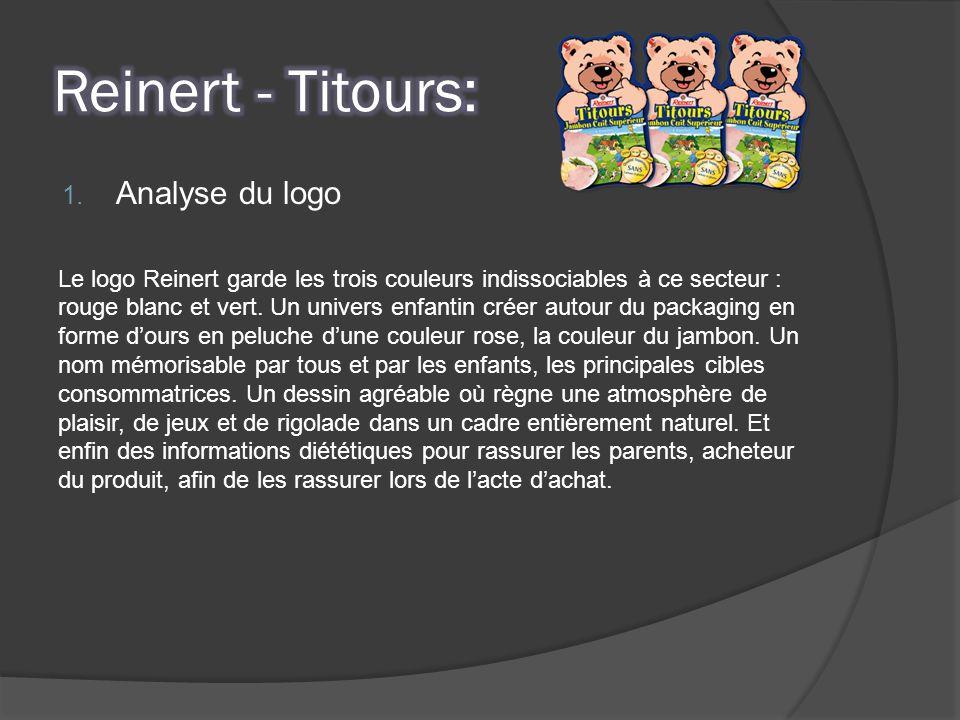Reinert - Titours: Analyse du logo