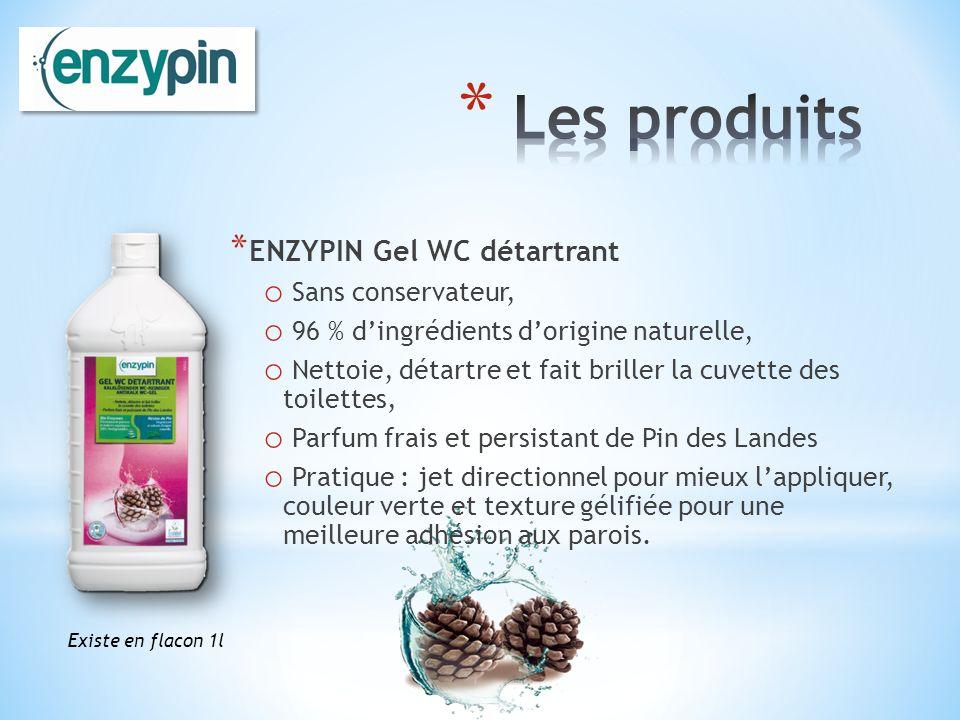 Les produits ENZYPIN Gel WC détartrant Sans conservateur,