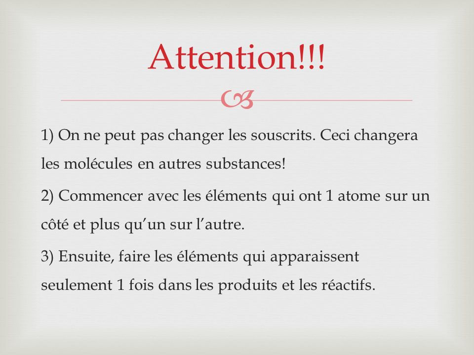 Attention!!!