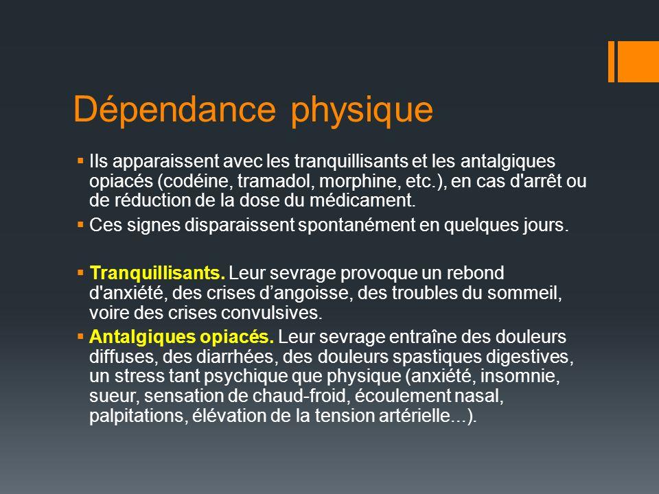 Dépendance physique
